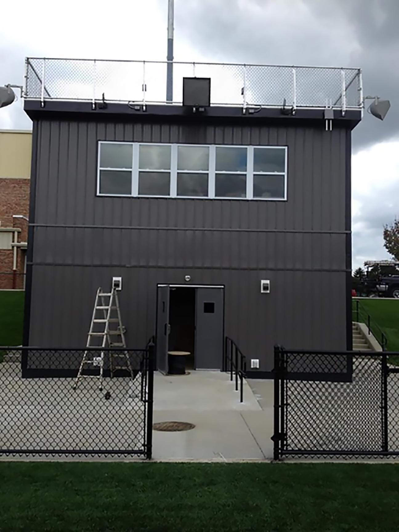 APB Ground Game™ 2-Story Press Box, Pennsylvania