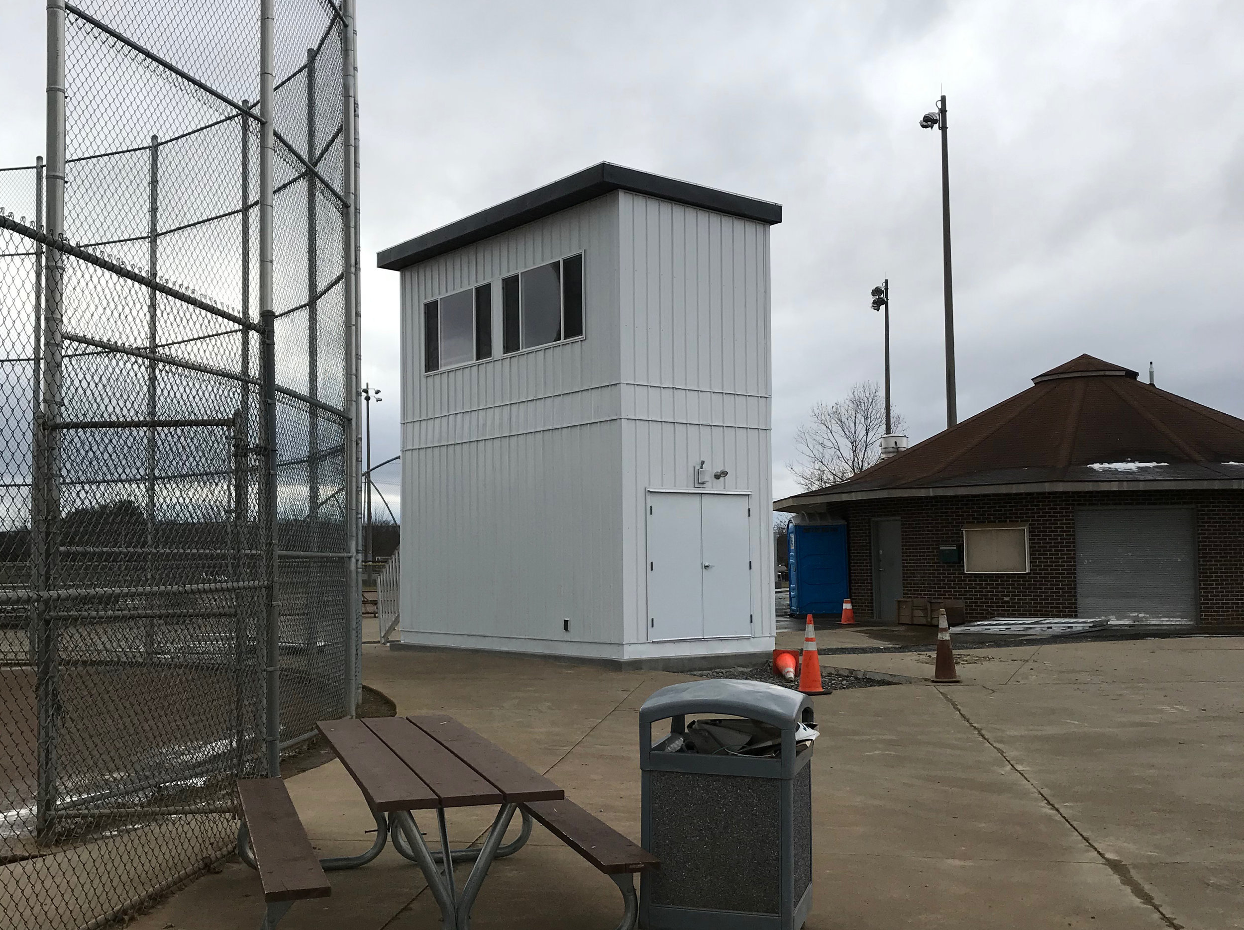 APB Ground Game™ 2-Story Press Box, Virginia
