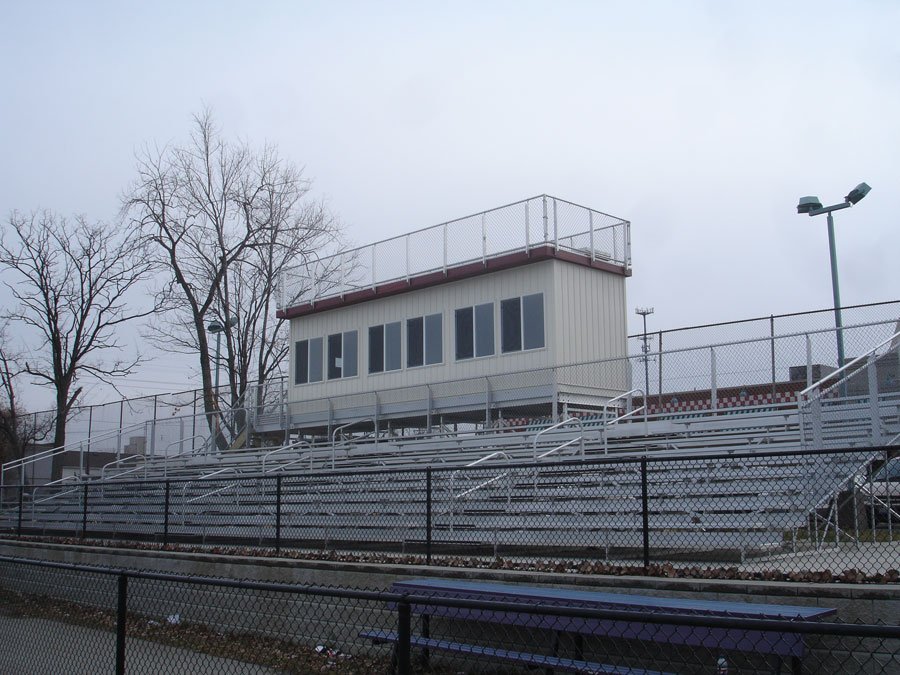 8'W x 36'L Press Box, View 2