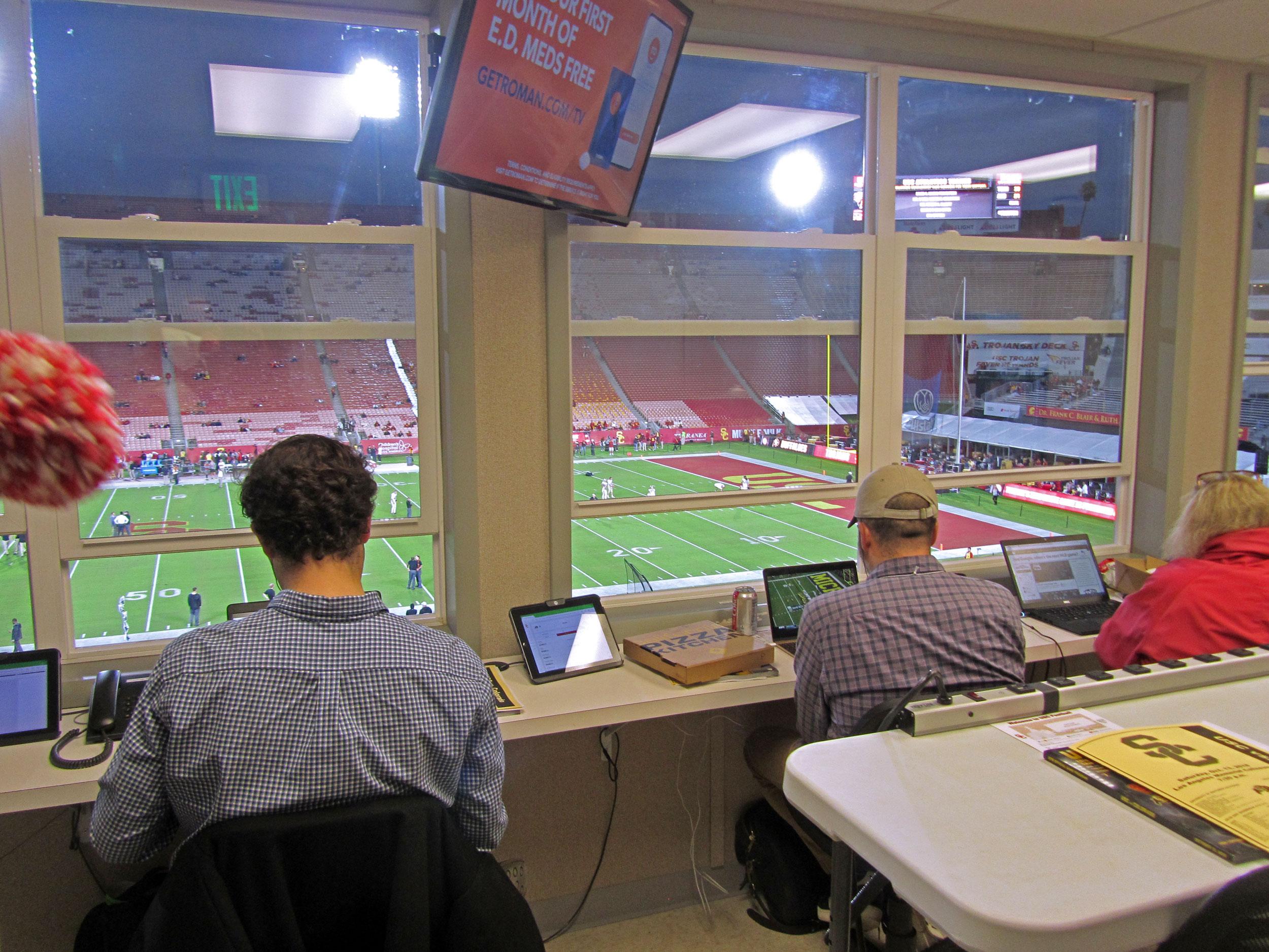 Media/Press Room, View 5
