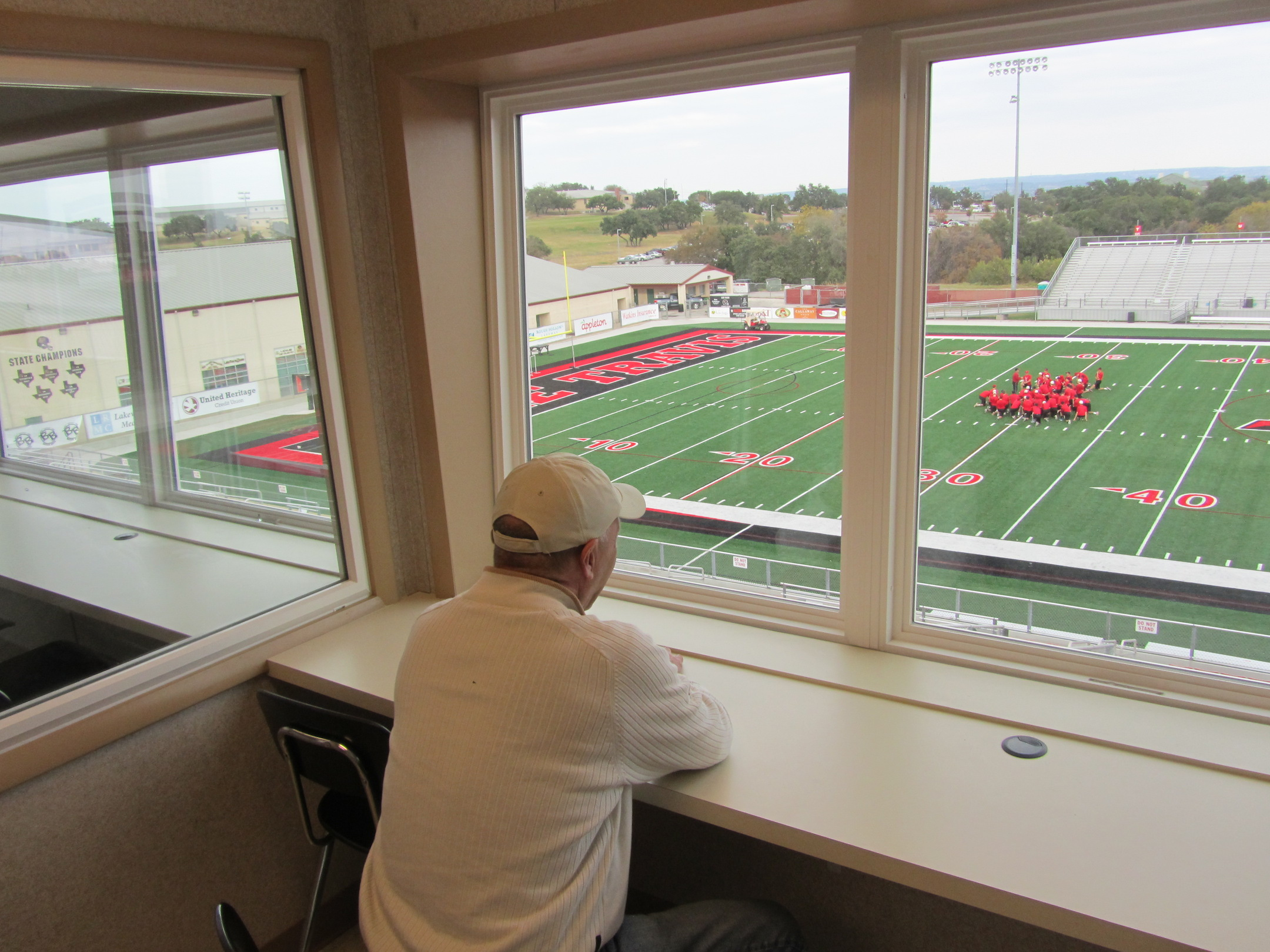 Glass Partition (Featuring Steve Aronson of American Press Box)
