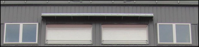 """Interior Filming Area; """"Garage Doors"""""""