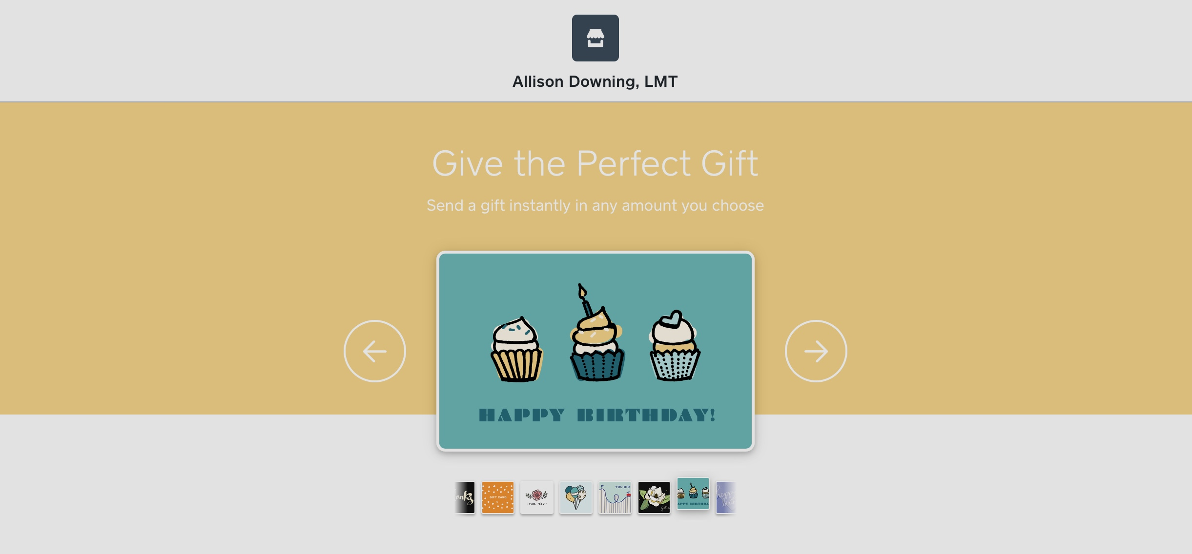 E-Giftcards -