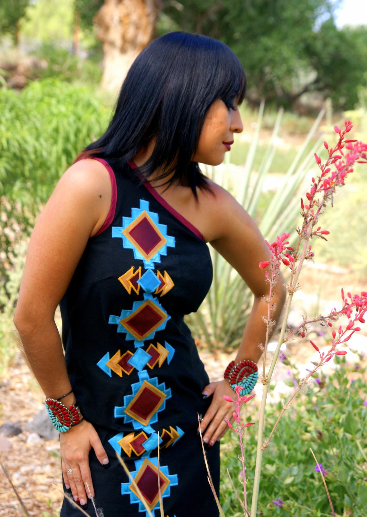 Daphne Coriz, Tewa Pueblo, New Mexico