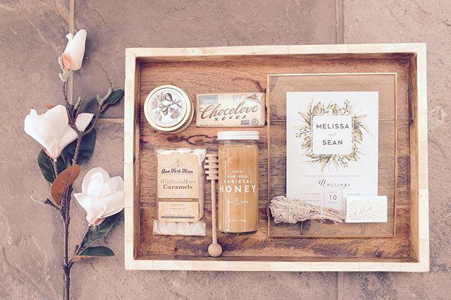 t o m m o r r o w l o v e  w i n s .  congrats to 🦢 lovebirds @mshuneybee + @sagefieldsconstruction  #cardinalandfinch #wedding #gift #weddinggift #weddinggiftideas #simpleandsweet #giftbox #giftbasket #giftboxco #centralillinois #smallbusiness #sage #weddinginvitation #brooklyncandlestudio #chocolove #oneforkfarm #studioportmanteau #beerawhoney
