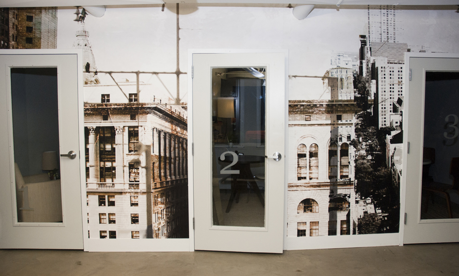 Culture Works Philadelphia, photographic wall-vinyl.