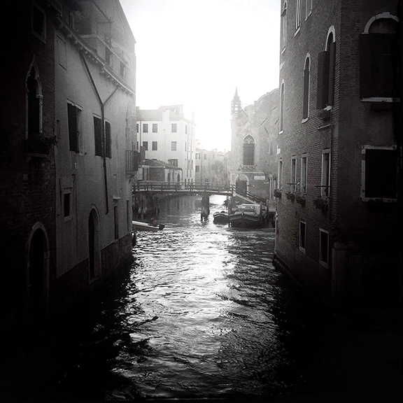 Canals, Venice, Italy.