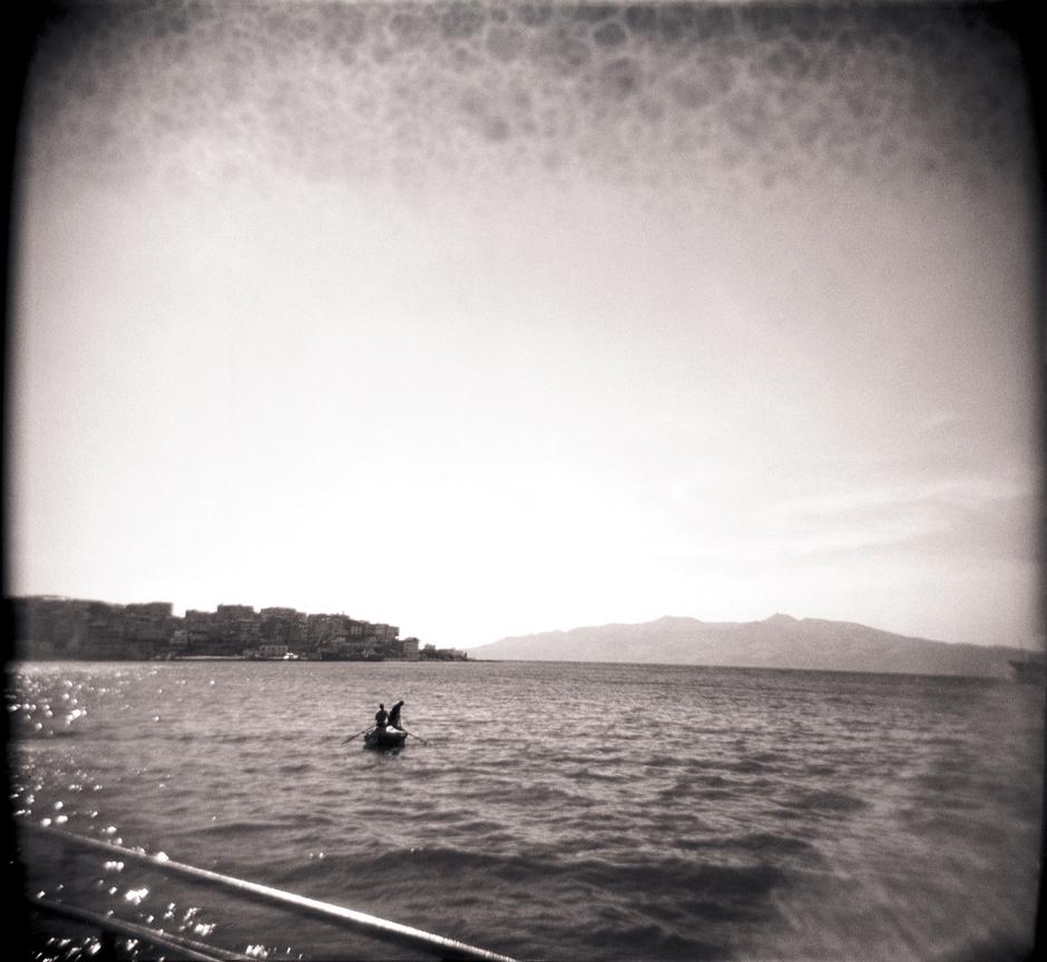 At Sea, Albania.
