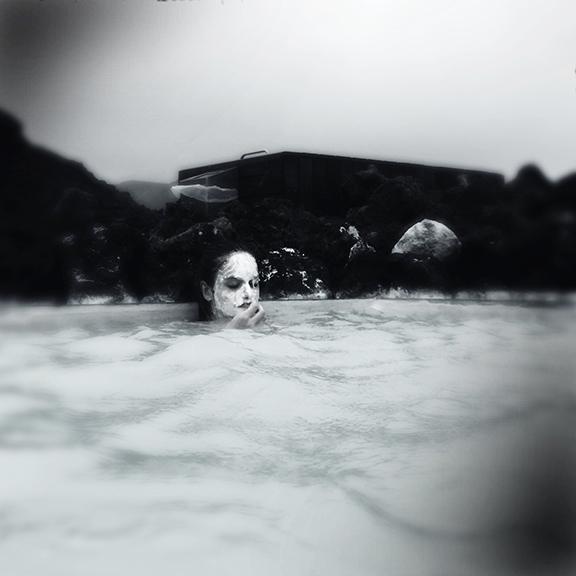 Bathing, Blue Lagoon, Iceland.