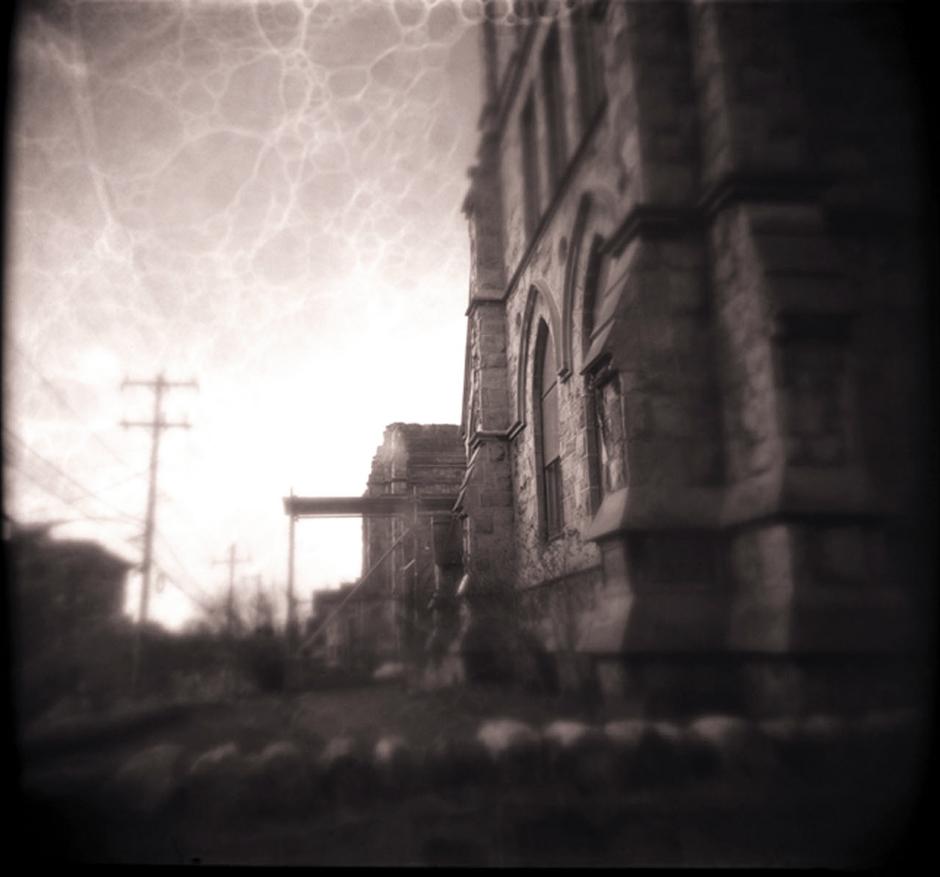 Demolished Church, Philadelphia.