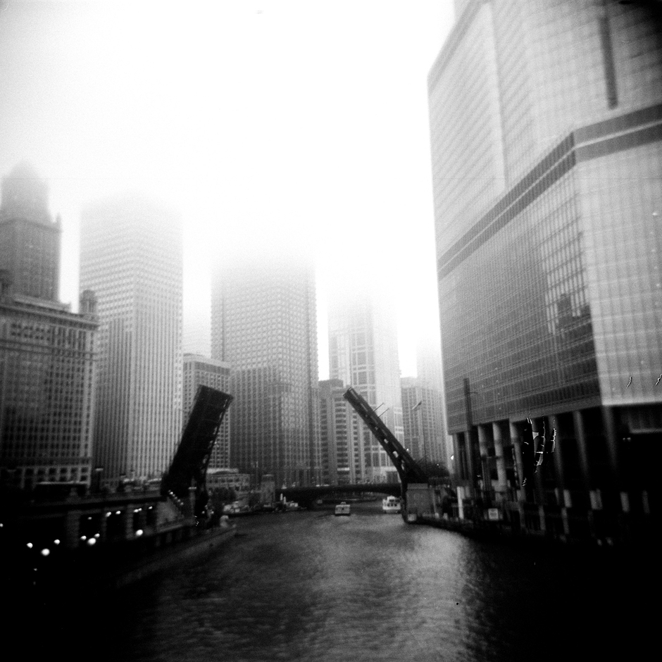 Parting, Chicago, USA.