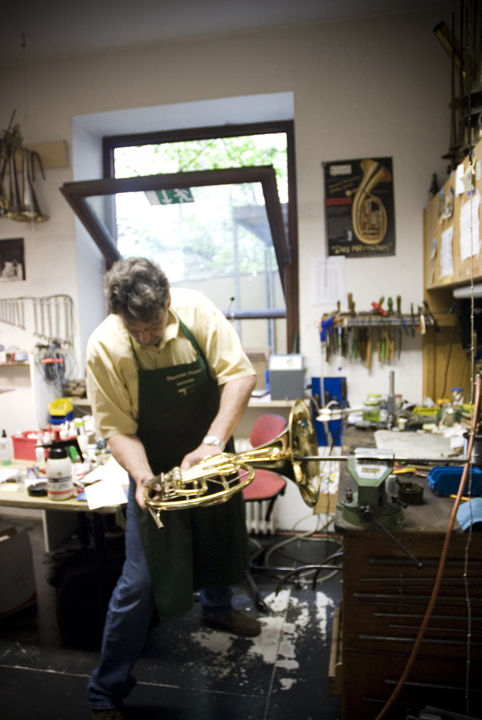 Instrument Maker, Munich, Germany.