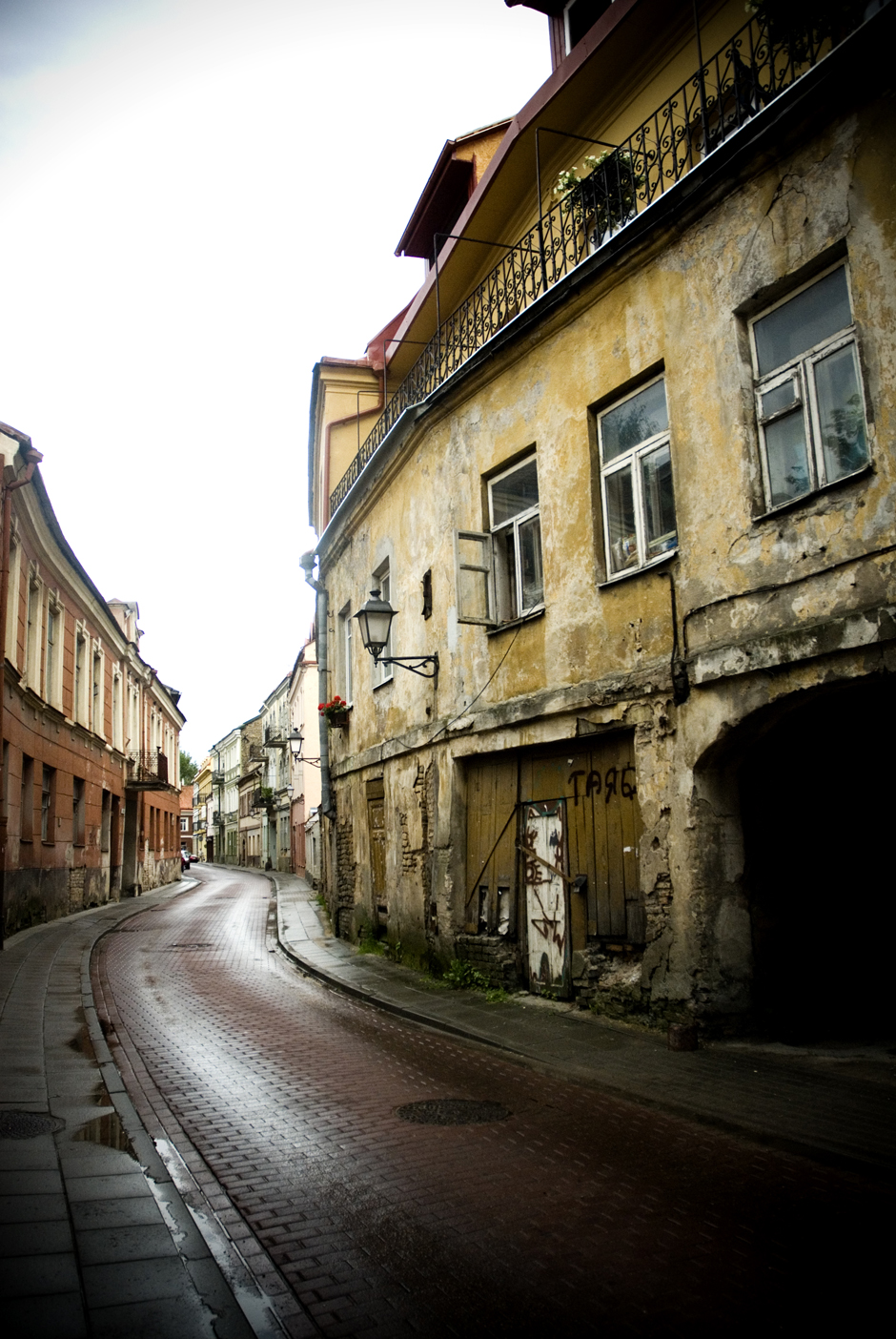 The Jewish Quarter, Vilnius, Lithuania.