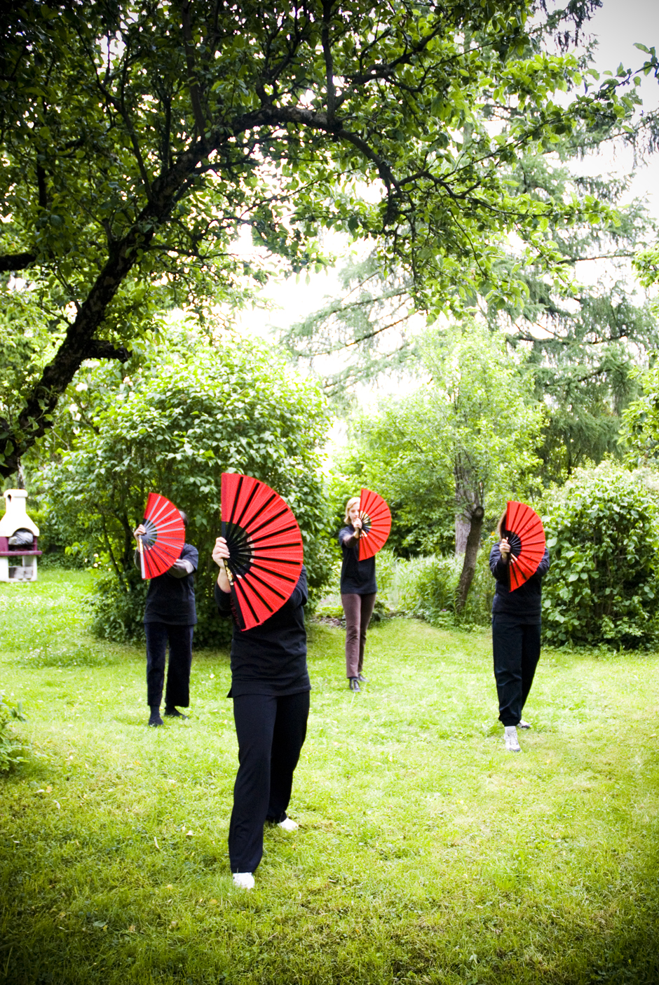 Tai Chi, Munich, Germany.