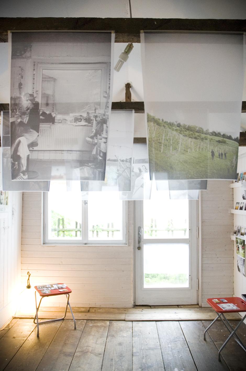 Artists Working.  Atelier-drei , Munich, Germany. 2010.