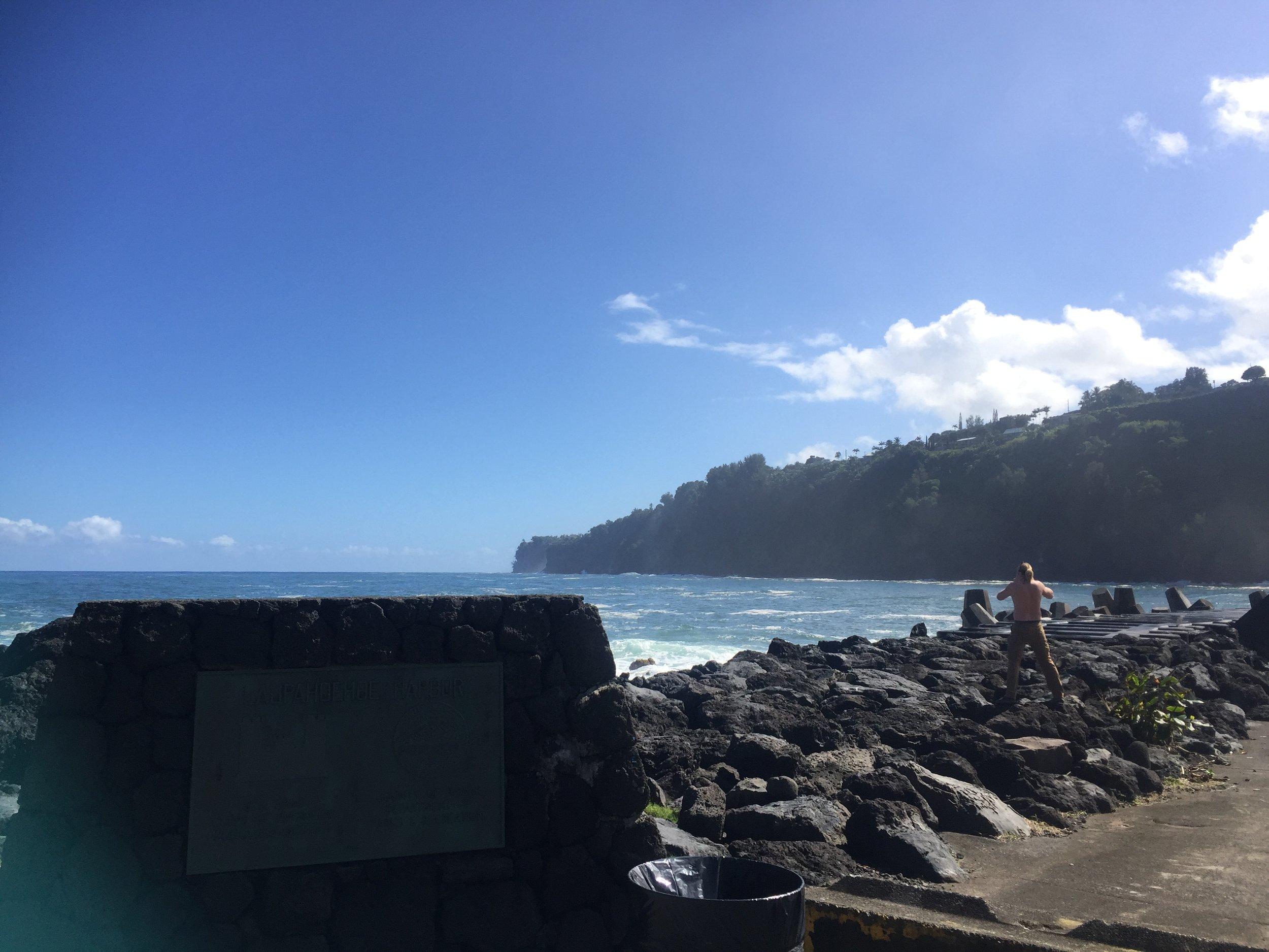 TOP TEN HAWAI'I ISLAND STOPS - I SEND MY OHANA. WWW.HAWAIISIMPLYNATURALRESTAURANT.COM