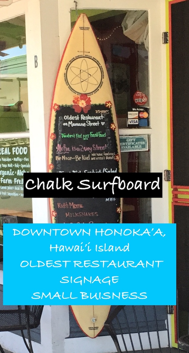 DIY easy chalk-surfboard crafters project. Try it.