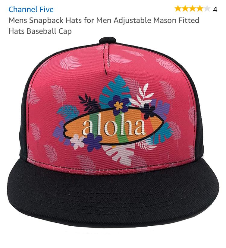 so cute aloha hat