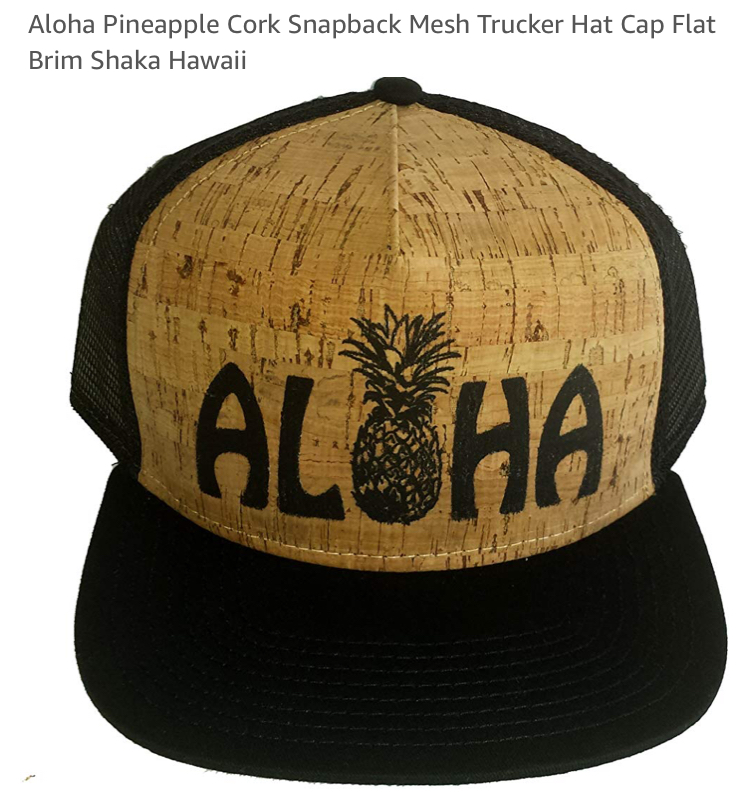 cork aloha hat