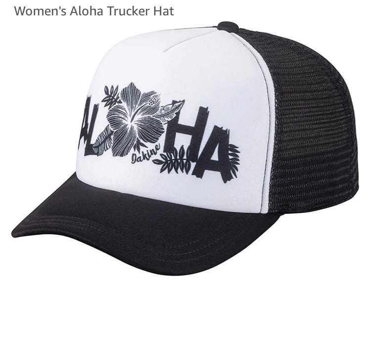 HIBISCUS ALOHA HAT