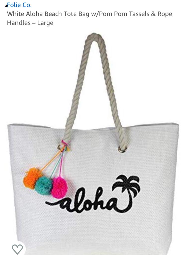 resort aloha bag