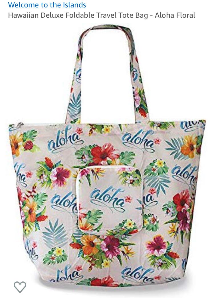 aloha travel bag
