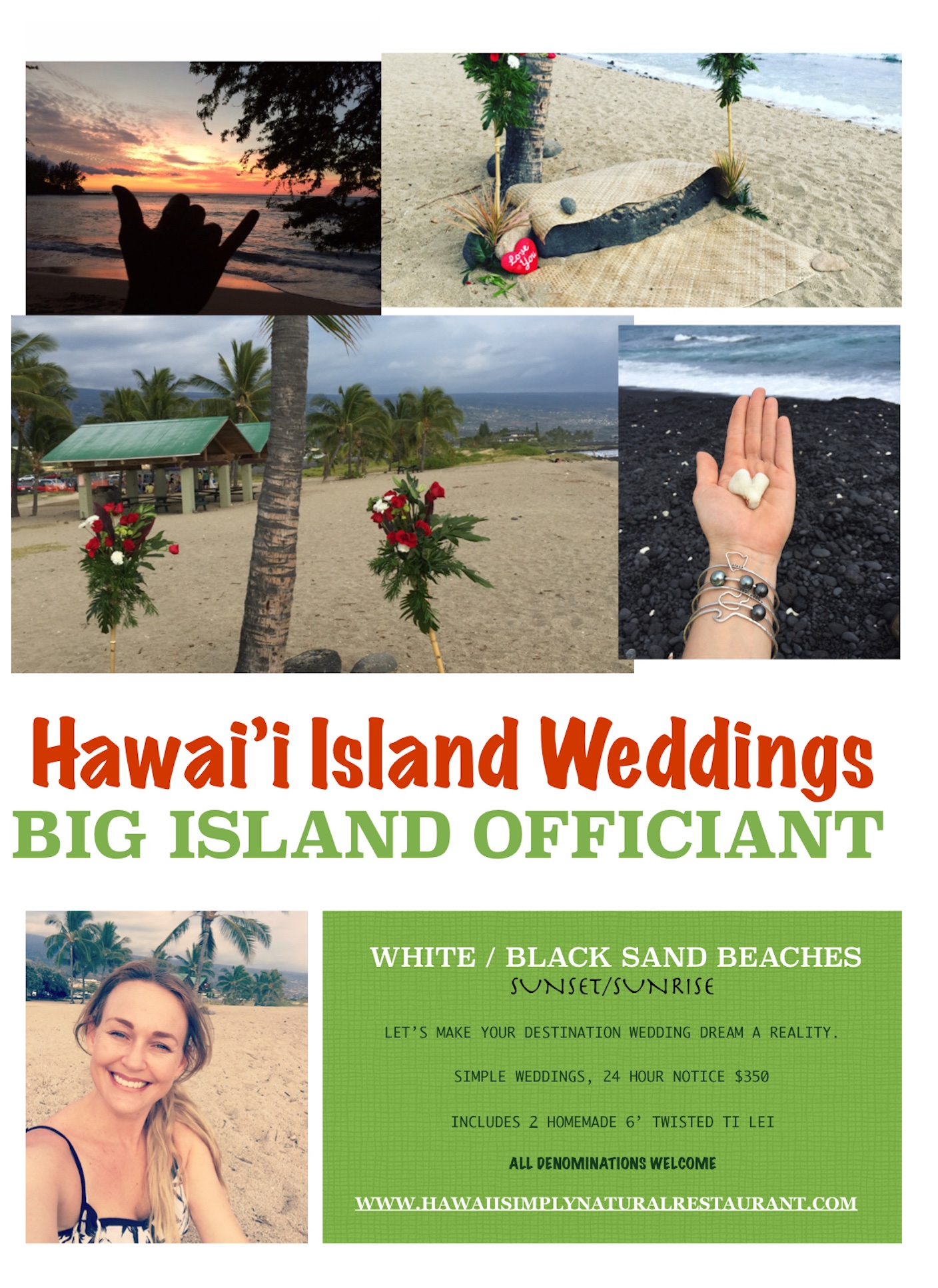 HAWAII ISLAND WEDDING OFFICIANT