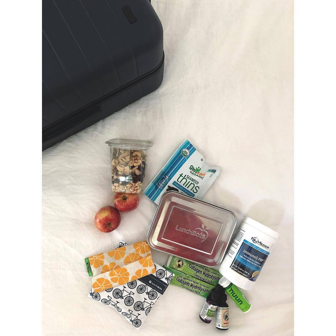 Talking about packing nutritious food + health aides for travel in stories today. 👆🏻👆🏻Getting vacation ready. 😎.  .  .  .  #medicinekitchen #herbalmedicine #travelbag #travelsnacks #healthathome #healthytravels #immunesupport #digestivehealth #wellnesstips #healthykidsfood #packyourlunch #lunchbots #foodforflight  (at Austin, Texas)