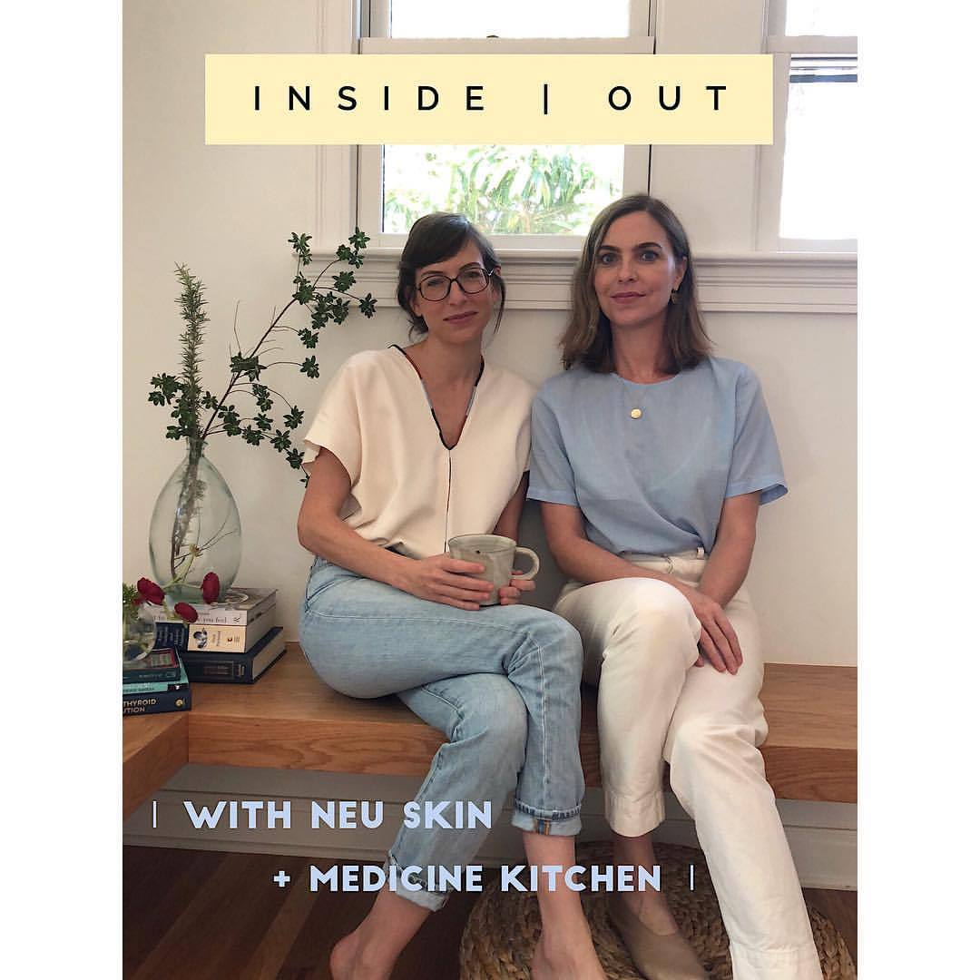 I'm happy to announce a new project I've been working on with my friend and colleague Elizabeth Bentley, holistic skincare specialist @neuskinaustin. We have recently joined forces to bring you duet sessions that merge our personal experience & knowledge of Eastern medicine, holistic nutrition, and organic skincare together! These sessions are for the woman who wants a full-spectrum perspective on natural health and beauty. With Inside | Out we will also be sharing seasonal info on how to care for your body and skin naturally, with specific ingredients, recipes and lifestyle tips, and will be offering private virtual consultations with us as a TEAM for you soon! We hope this collaboration brings you informative, useful and enjoyable tips on how to stay healthy from the inside out. Go on over to follow @neuskinaustin to learn more about Elizabeth, and stay tuned for our first lesson on Spring Health coming soon!   .  .  .  #holistichealth #holisticbeauty #skinandbody #healthfromwithin #insideoutforwomen #chinesemedicine #organicskincare #holisticlifestyle #healingarts #medicinekitchen #neuskinaustin