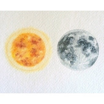 """The eclipse has me feeling the interplay of YIN 🌑 & YANG 🌕 more than ever. Yin & Yang are not just opposites, they are polar complements that create, control and transform into each other in a dynamic unfolding. In early Chinese naturalist thought - this logic of Yin and Yang explained relationships, patterns, and change. Nothing embodies this concept more for me & expresses the beauty of cyclical patterns more than the eclipse this week.   .  .  From a wise book, The Web That Has No Weaver, """"In this system of thought, all things are seen as part of a whole. No entity can ever be isolated from its relationship to other entities, no thing can exist in and of itself.""""   .  """"The constancy of the cosmos lies in these patterns of change, which are regular. The cosmos itself is an integral whole, a web of interrelated things and events.""""   .  .  It is up to us to see all parts of the whole and understand all patterns within this web of ours. We are better together and are most attuned to the unfolding dynamic of our world when we are considering everyone/everything in it.  Love to all on this big day tomorrow. 💗"""
