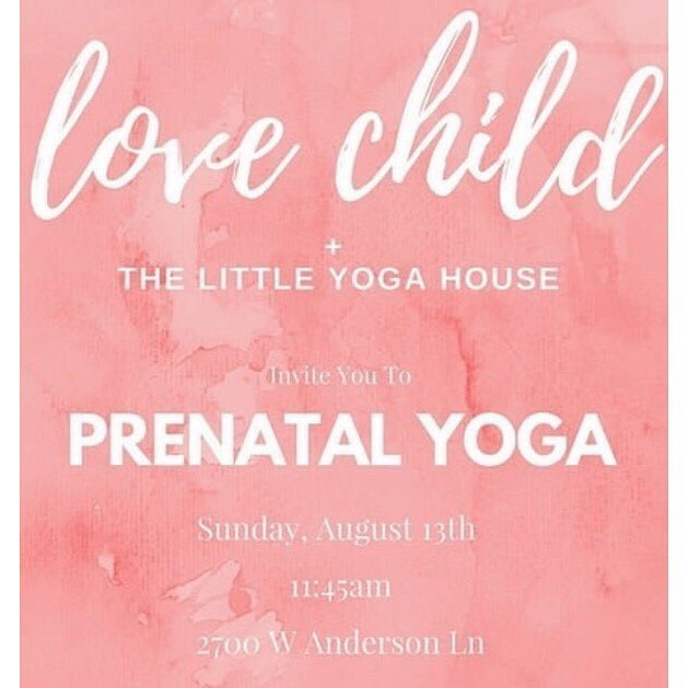 Hello mamas-to-be! I'll be @littleyogahouse with @lovechildmag on Sunday, August 13th holding a little Natural Pregnancy Q&A for you! Come for a lovely prenatal yoga + meditation class and stay after for swag bags, snacks and holistic health chatting with me. Hope to see you there! ❤️  .  .  .  #lovechildmag #prenatalyoga #prenatal #momlife #wellness #prenatalhealth #healthymama #chinesemedicine #naturalhealth #medicinekitchen #treatyoself #nourishyourself