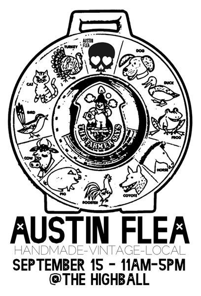 I'll be selling Medicine Kitchen goods at the Austin Flea this coming Saturday 9/15 @ the Highball on South Lamar!   Come on by for herbs, teas, or a free Chinese medicine pulse diagnosis!