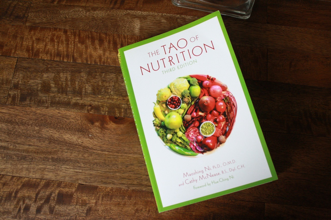 If you are looking for a book that explains the characteristics of food through the lens of Chinese medicine - this is a great start.  The Tao of Nutrition  will introduce you to the world of food energetics and whole-food healing. One of my favorite food remedies for  chronic sinus infections :   •Make tea from magnolia flowers, basil, ginger, and green onions. Drink 3 times per day for at least one week.   And a few other tips for  indigestion :   •Dry and age an orange peel for about 1 month. Boil tea of peels and drink after meals or simple suck on the peel for indigestion. Eat papaya twice daily, in any form. Blend daikon radish and drink juice after meals.   This book is filled with interesting and informative tips for many different ailments and common health concerns and has plenty of recipes for you to incorporate into your weekly meals. If you are suffering from any mild health complaint - it's worth giving some of these ideas a try before resorting to medications!