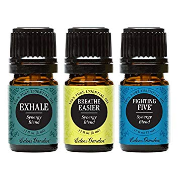 Eden's Garden essential oils set - Immunity and Respiratory.