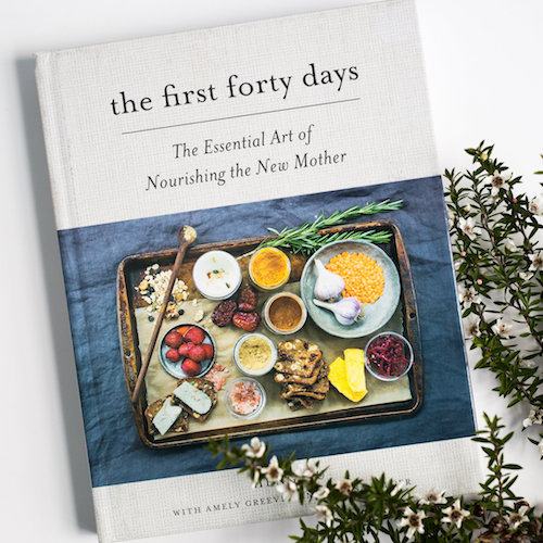 The First Forty Days  by Heng Ou / postpartum cookbook