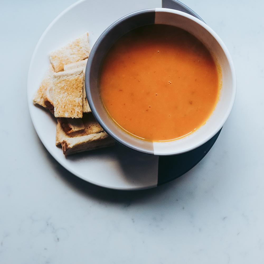 Teaspoon Willie's Butternut Squash Soup