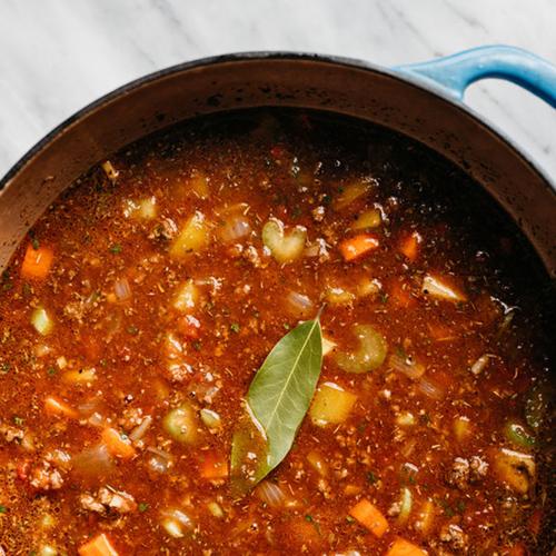 Teaspoon Willie's Spicy Chili
