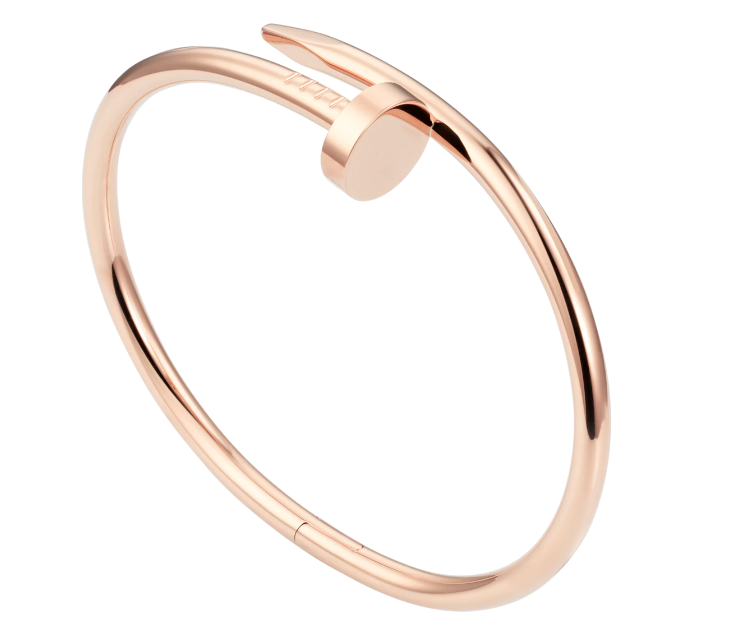 Juste un Clou Bracelet in Pink Gold from Cartier $6,800