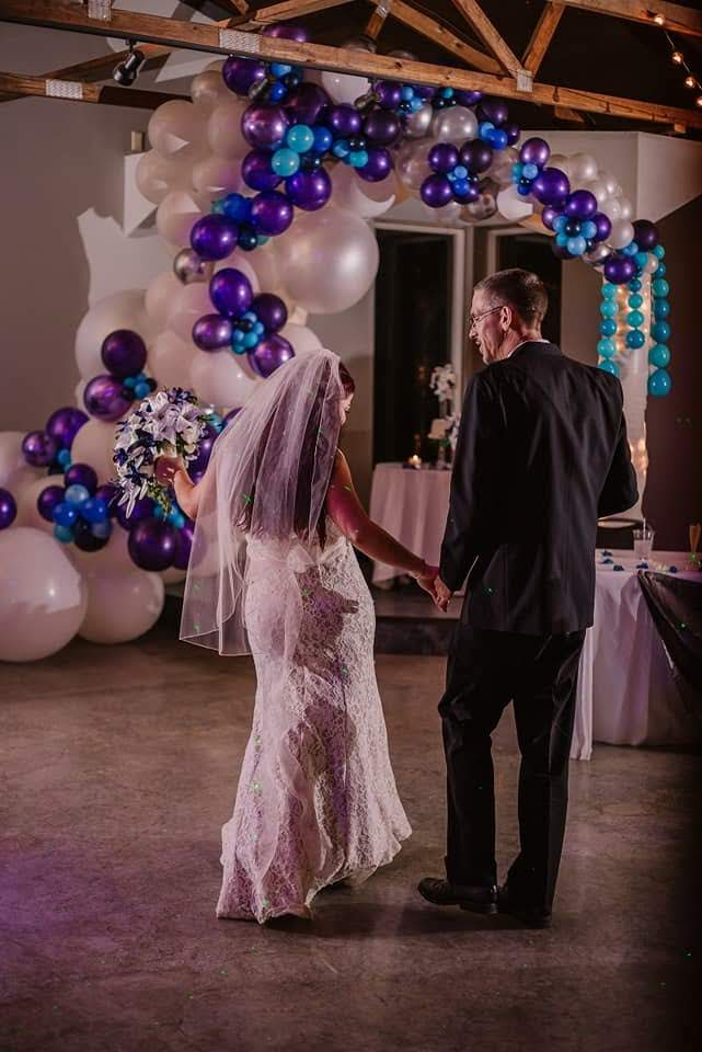 Organic wedding balloons