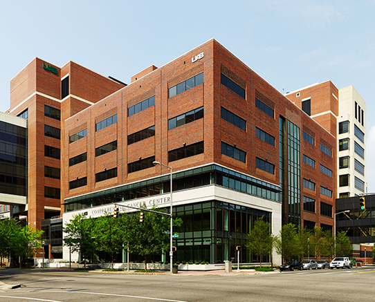 Our lab locates on the 5th floor of UAB Comprehensive Cancer Center.
