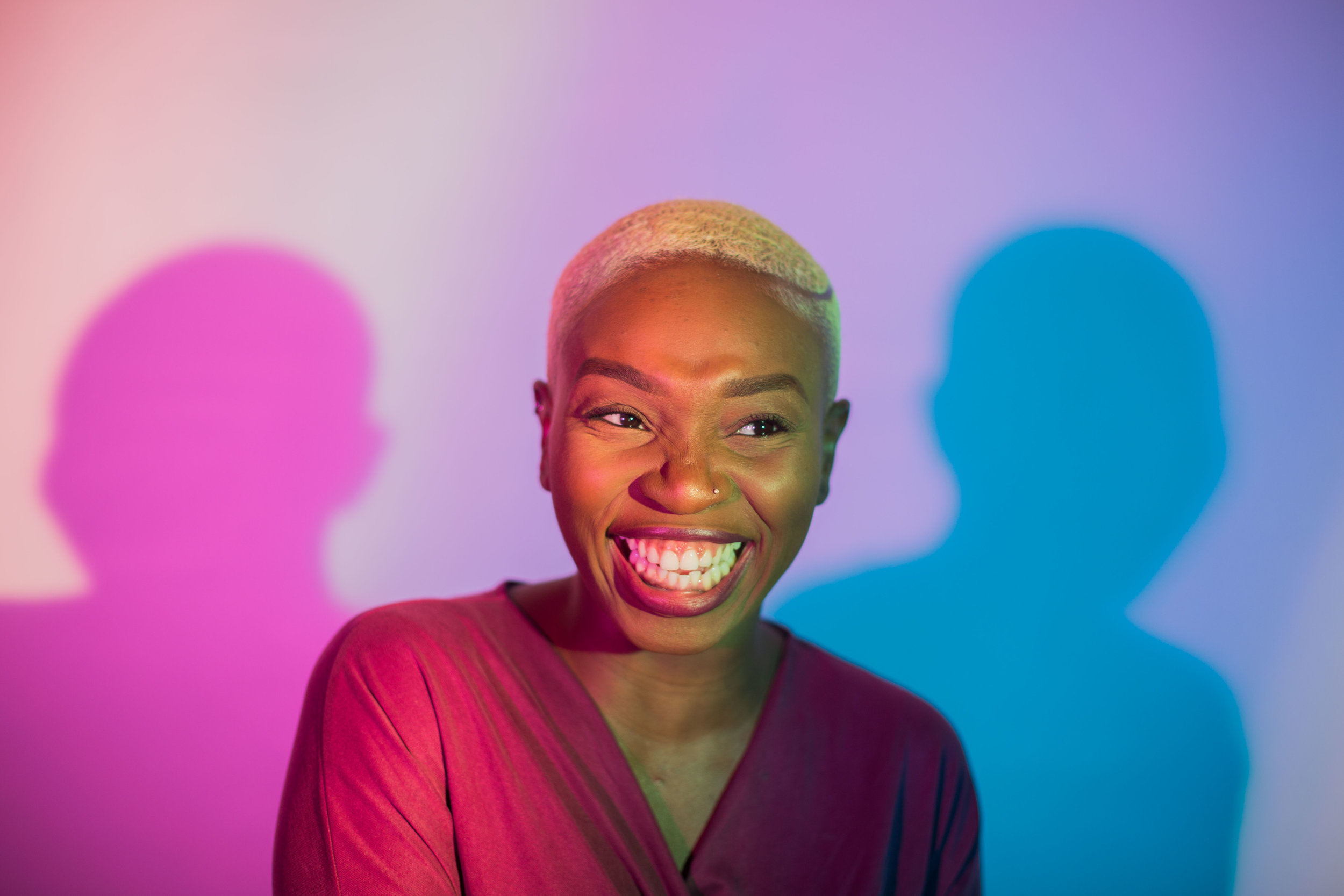 Meet Ruth Sutoyé - London-based poet, facilitator, creative producer, visual artist and visionary behind short film 'Reign'.