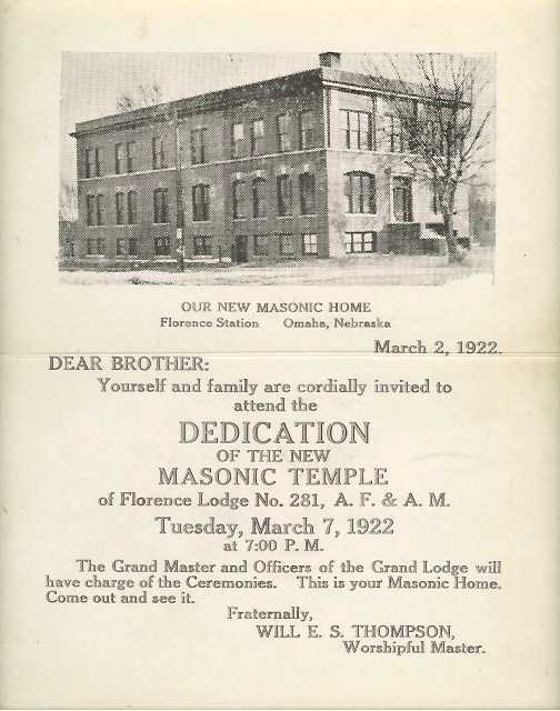 Florence Lodge's original building, as expanded in 1922.