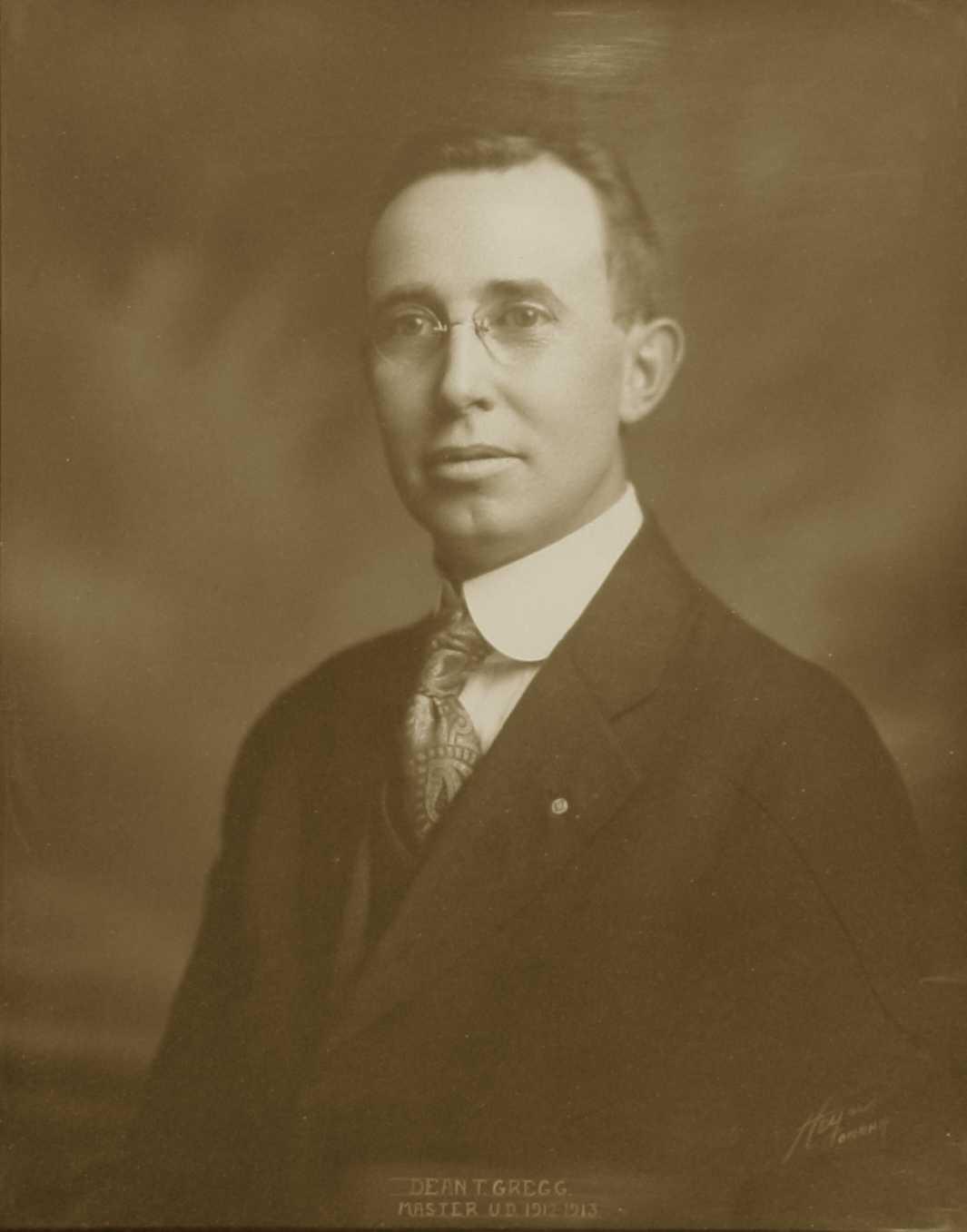 Dean Gregg, 1913 (U.D.)
