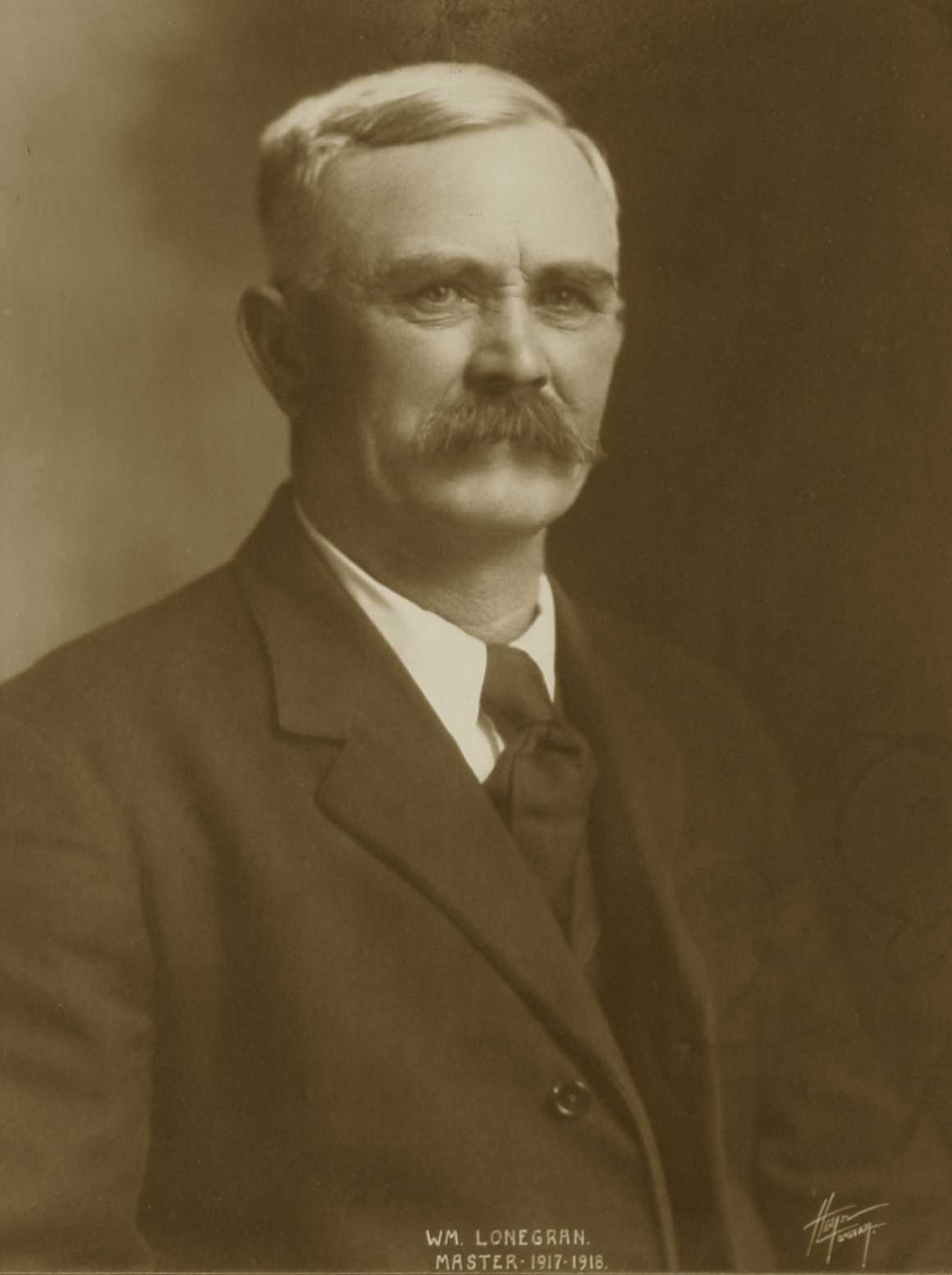 William Lonegran, 1917-1918