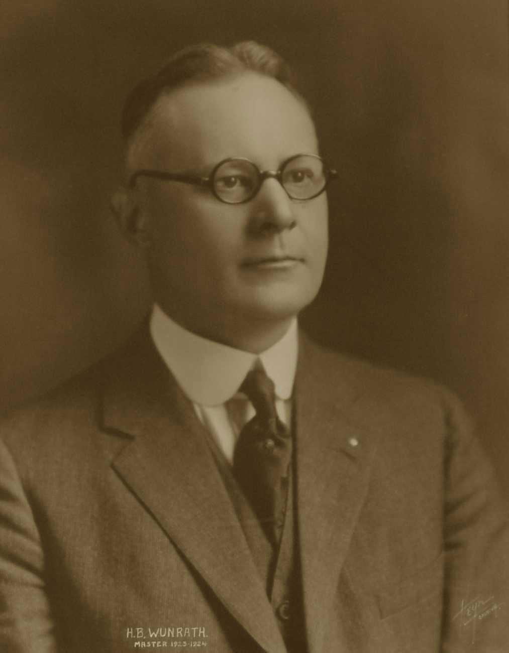 H. B. Wunrath, 1923-1924