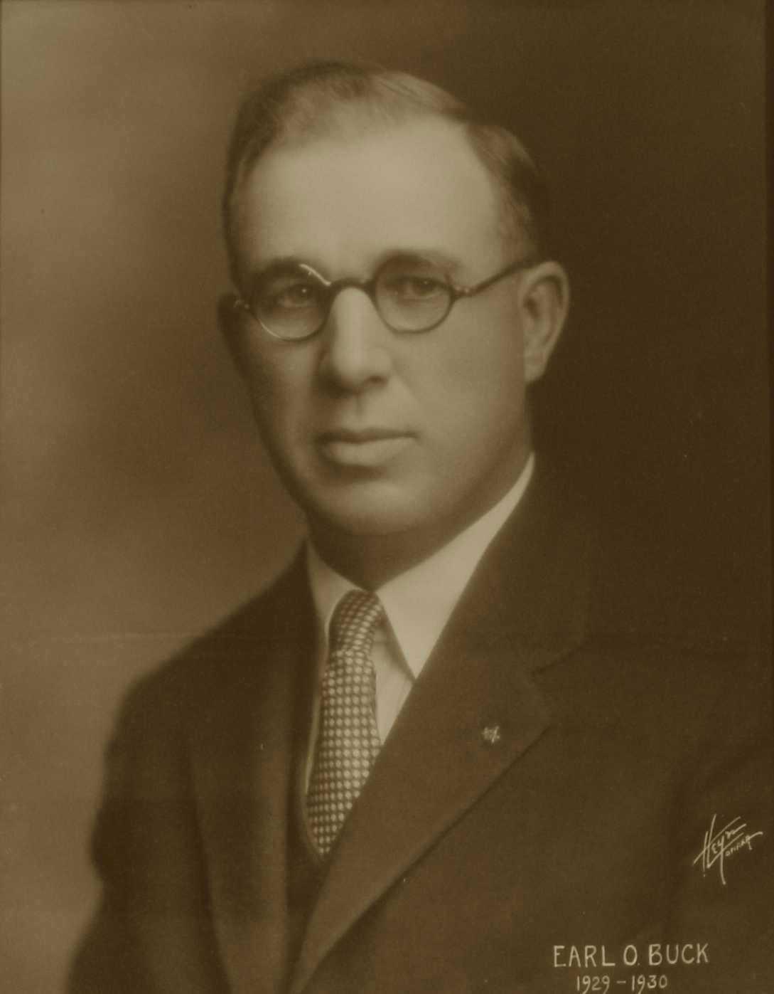 Earl O. Buck, 1929-1930