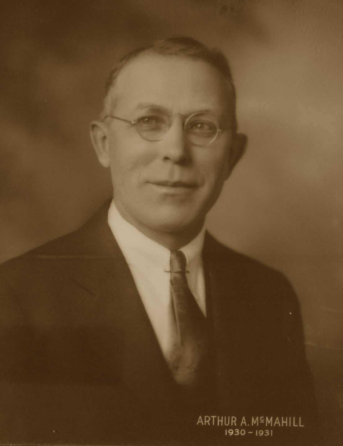 Arthur A. McMahill, 1930-1931
