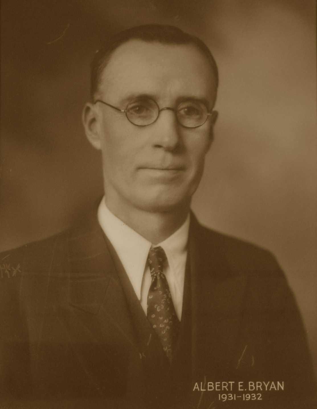 Albert E. Bryan, 1931-1932