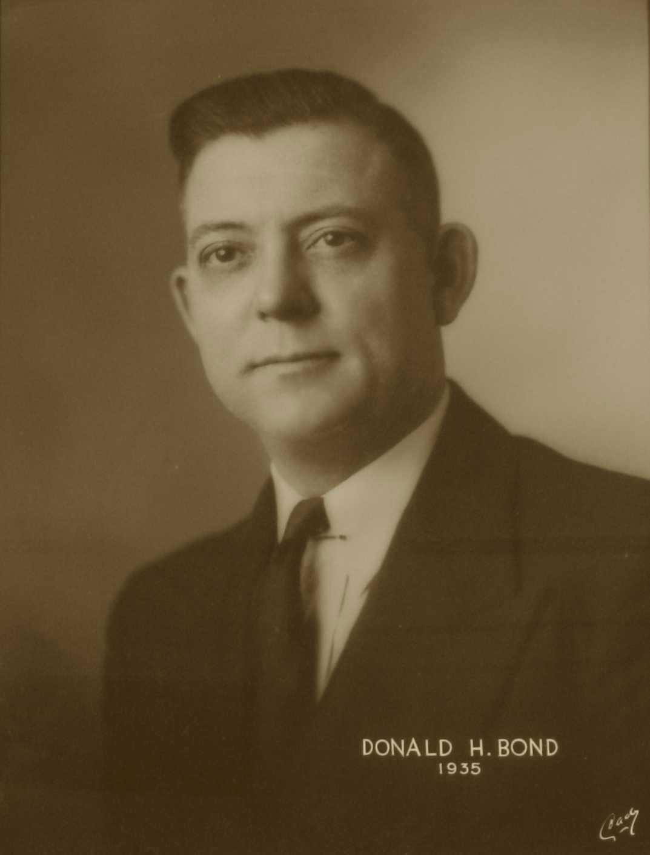 Donald H. Bond, 1935
