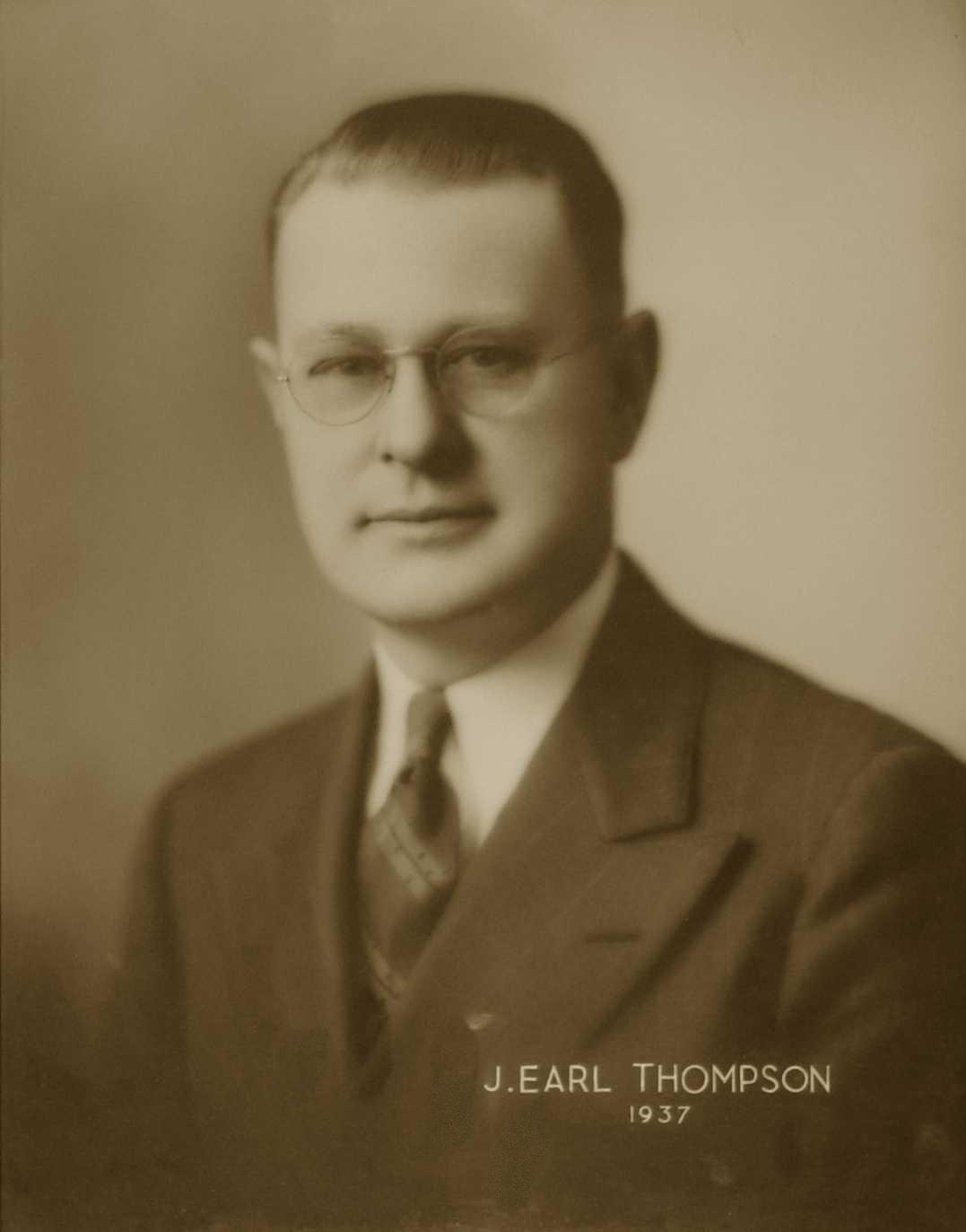 J. Earl Thompson, 1937
